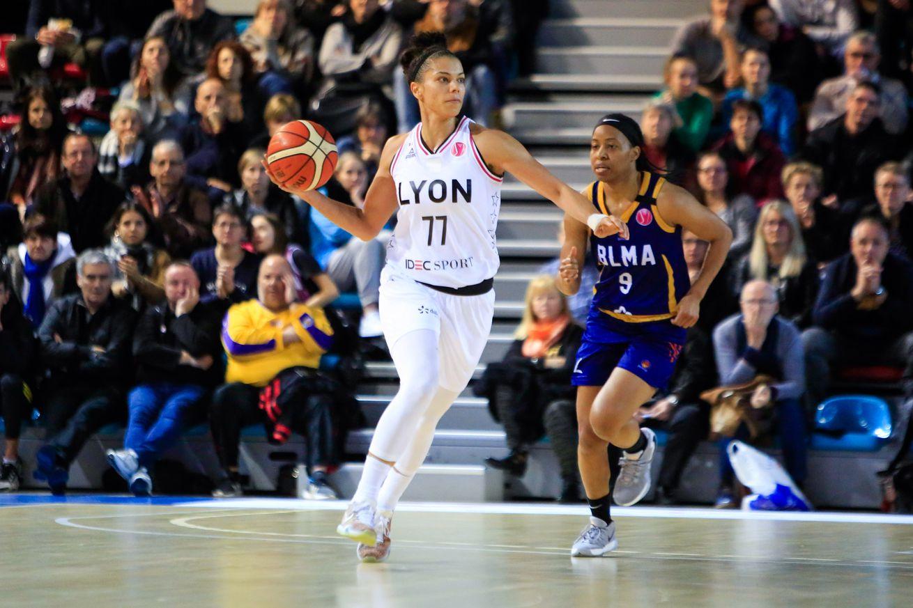 Lyon ASVEL Feminin v Basket Lattes Montpellier - Euroleague Women