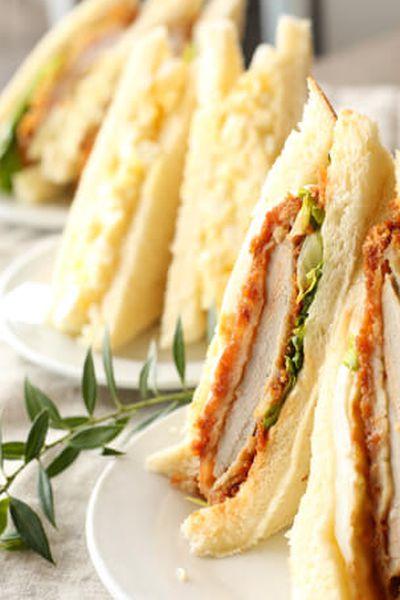 Katsu sandwich from Delica