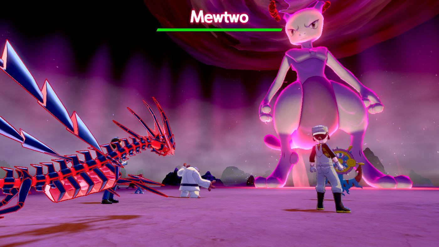 Mewtwo is nearly impossible to beat in new Pokémon Sword and Shield raid -  The Verge