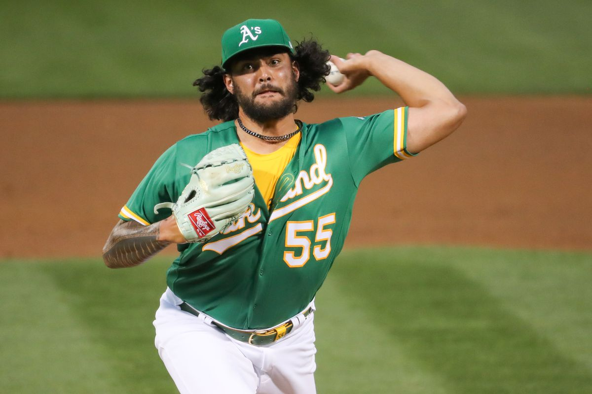 MLB: JUN 14 Angels at Athletics
