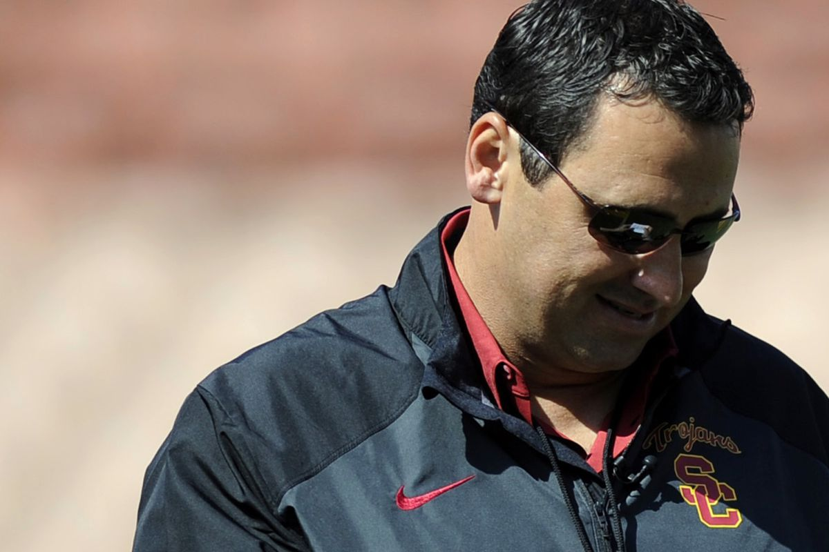 Steve Sarkisian is looking to build back the Trojans as an elite Pac 12 program.