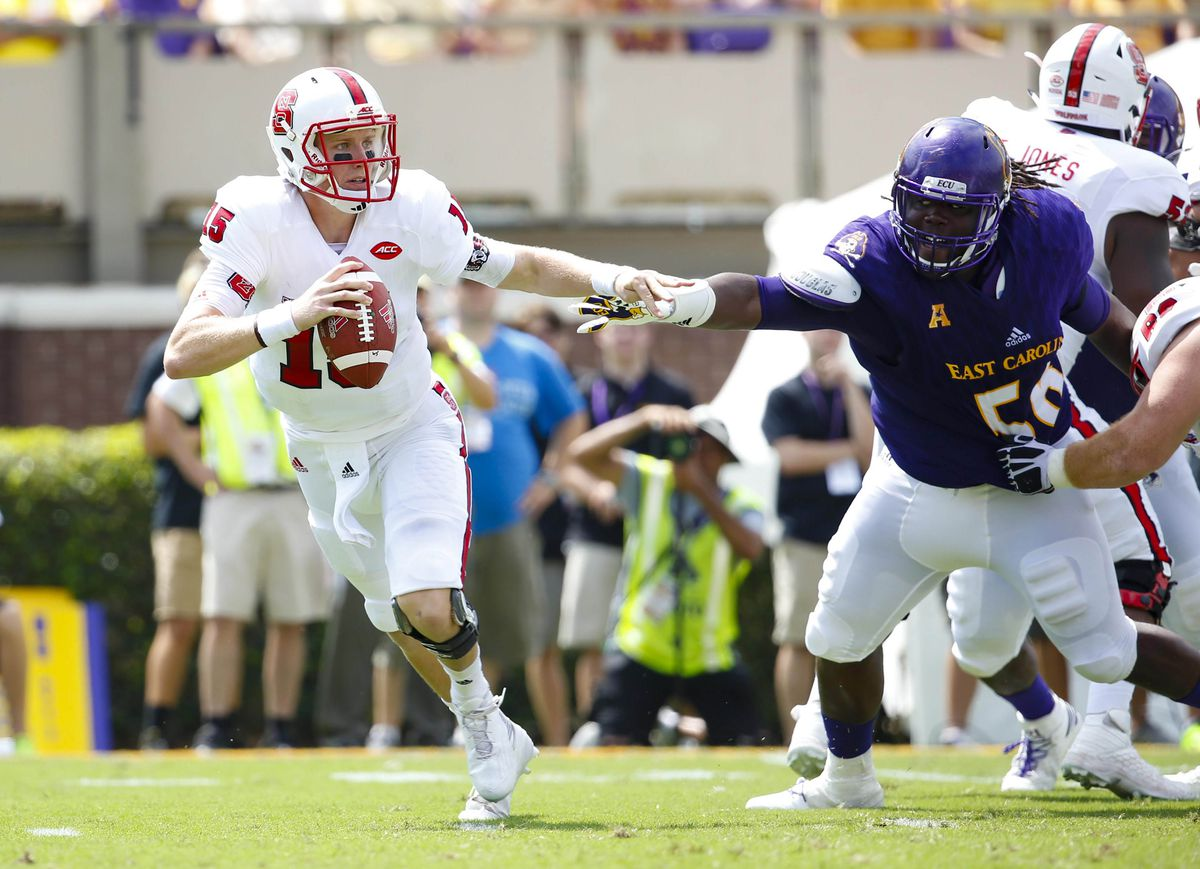 NCAA Football: North Carolina State at East Carolina