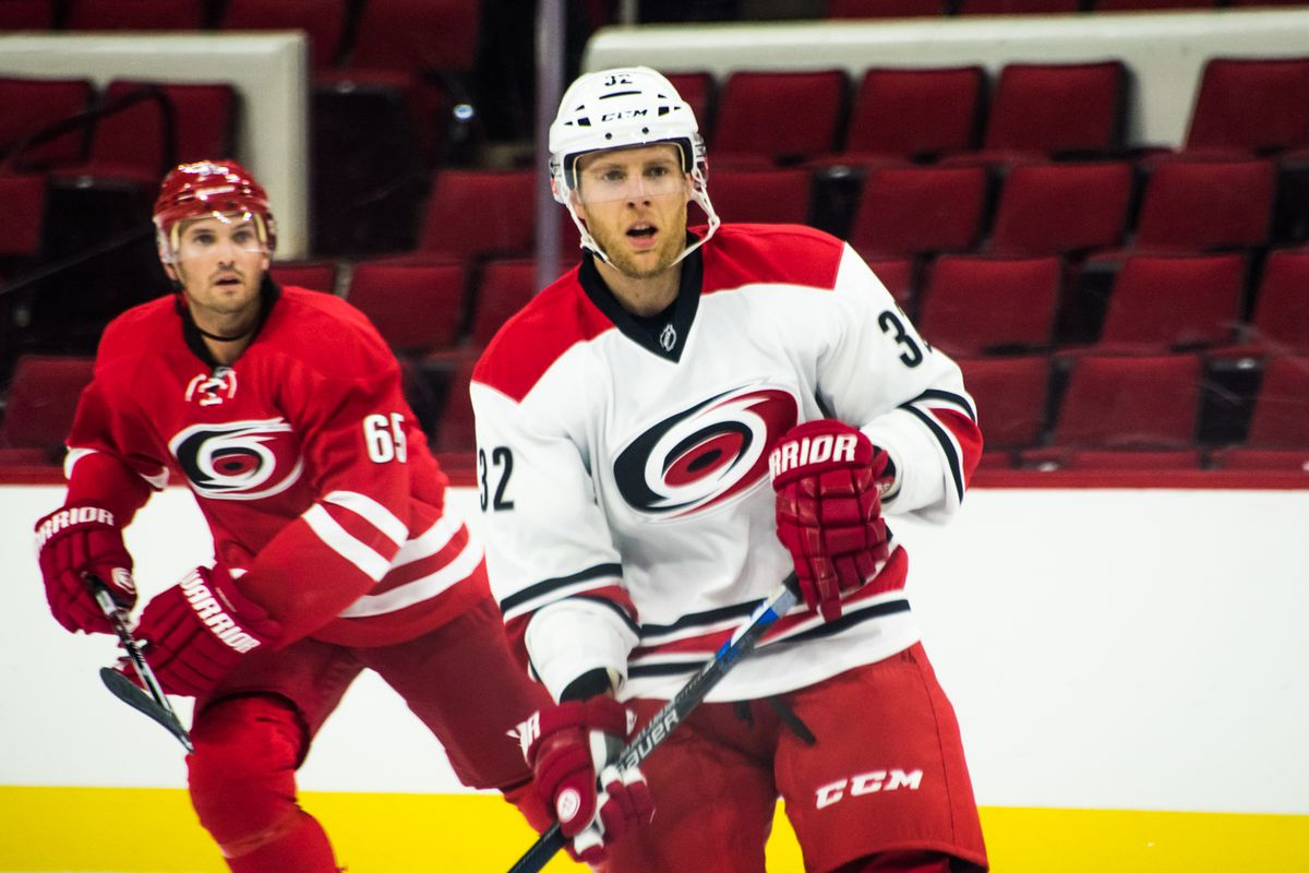 Canes newcomer Kris Versteeg will start on a line with Eric and Jordan Staal tonight.