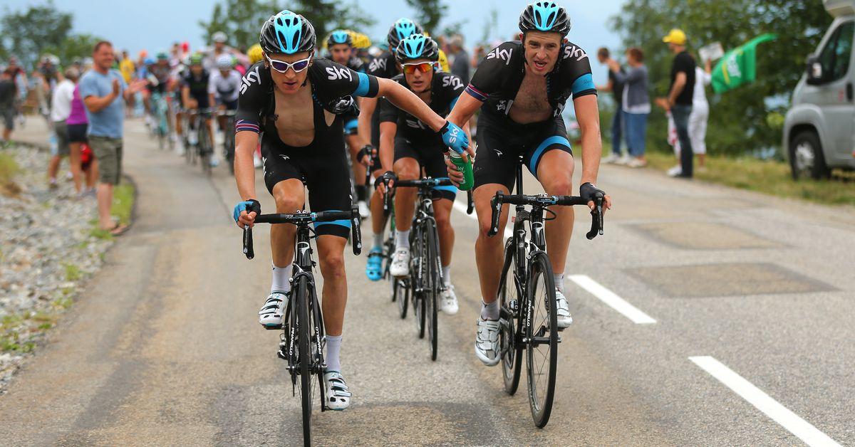Tour de France: Teamwork, race tactics, and support staff
