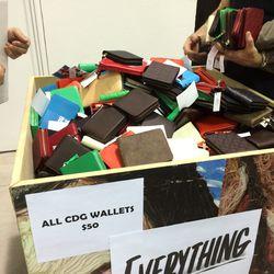 Men's wallets, $50