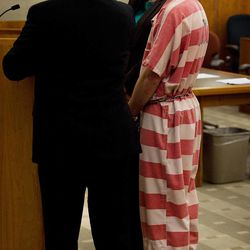 Martin Bond appears in 4th District Court in American Fork where he was sentenced to life without parole Tuesday, March 5, 2013. Bond was found guilty of murdering former BYU professor Kay Mortensen in the man's Payson home.