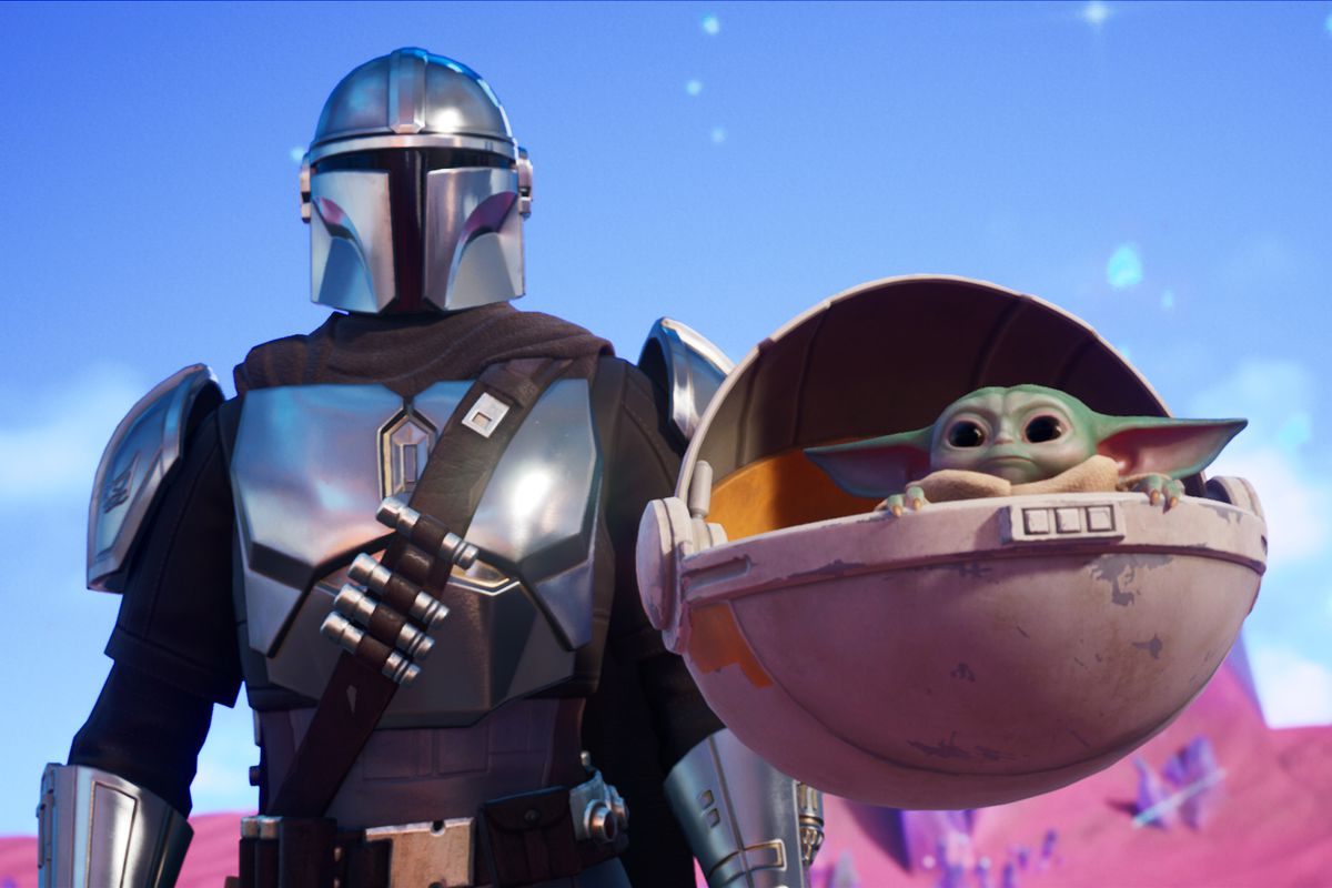 Fortnite Chapter 2 Season 5 Adds Baby Yoda And The Mandalorian The Verge See more of baby yoda official on facebook. fortnite chapter 2 season 5 adds baby