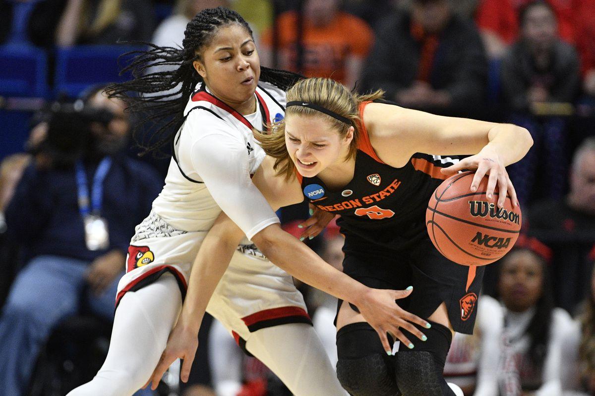 NCAA Womens Basketball: NCAA Tournament-Lexington Regional-Oregon State vs Louisville