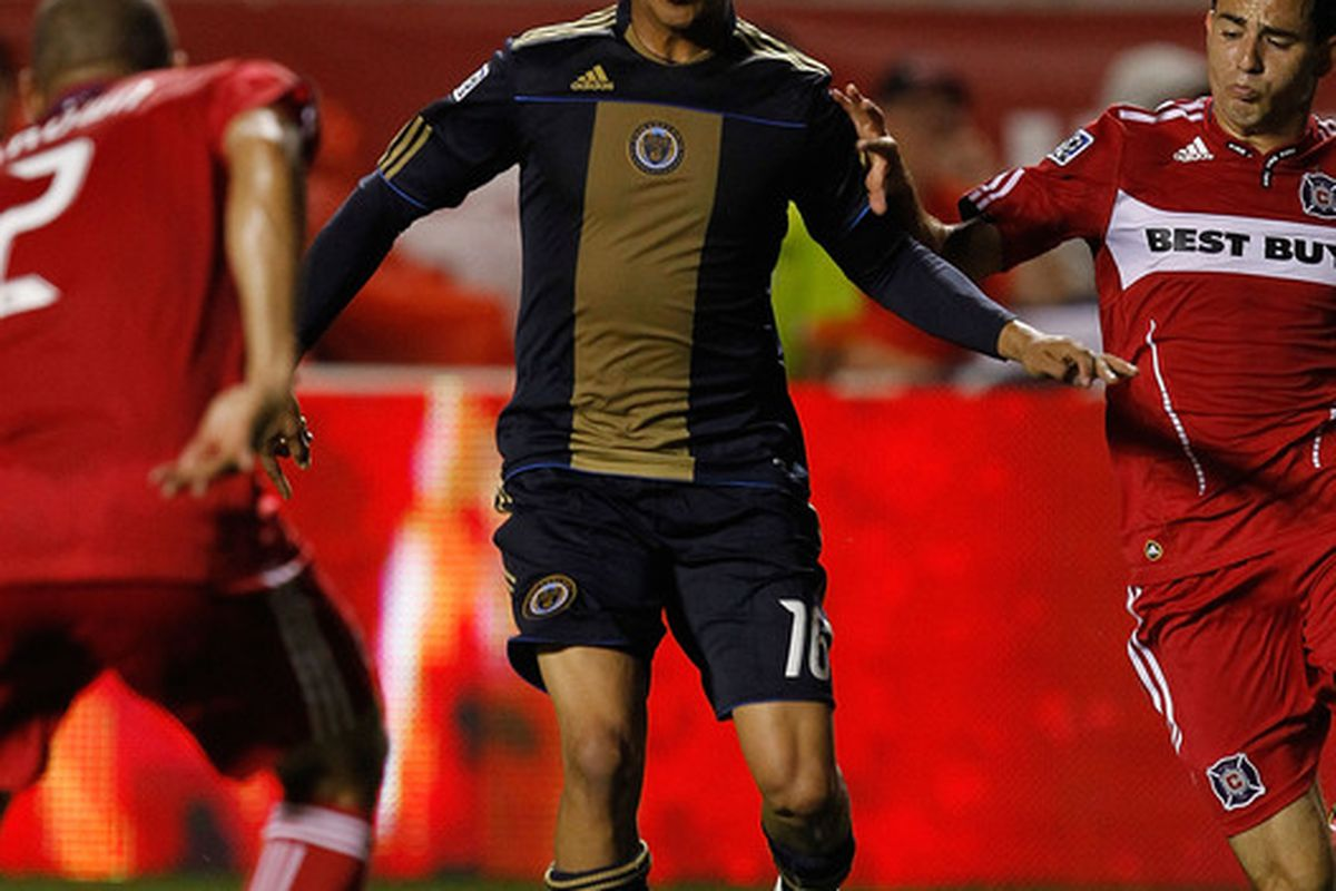 Michael Orozco-Fiscal is one of a few Philadelphia Union defenders who was not retained during the offseason. (Photo by Jonathan Daniel/Getty Images)