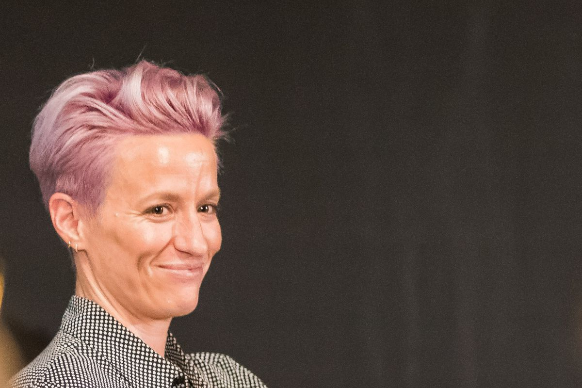 Image result for megan rapinoe gay party
