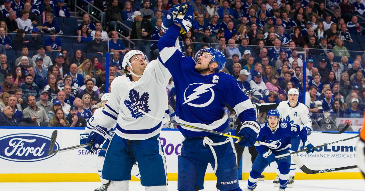 Preview: Maple Leafs vs the New Tampa Bay Lightning