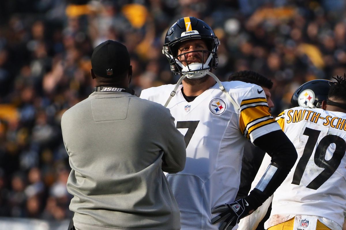 644d853da7d Mike Tomlin blames Raiders X-ray machine for the delay in getting Ben  Roethlisberger back onto the field