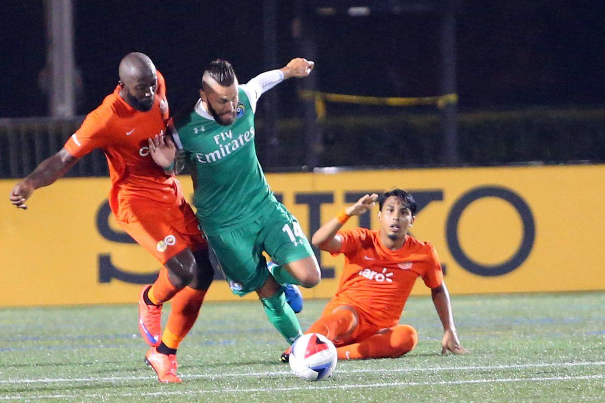 Soccer: Puerto Rico FC at New York Cosmos