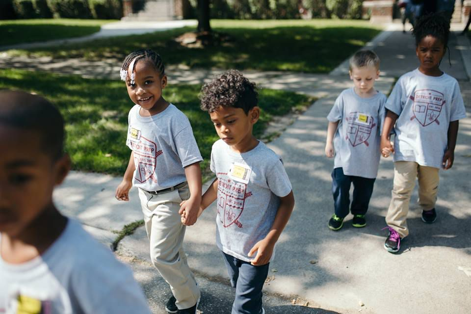 Children at Detroit Prep are are learning about kids how are differentfrom a young age but maintaining diversity could be a challenge.