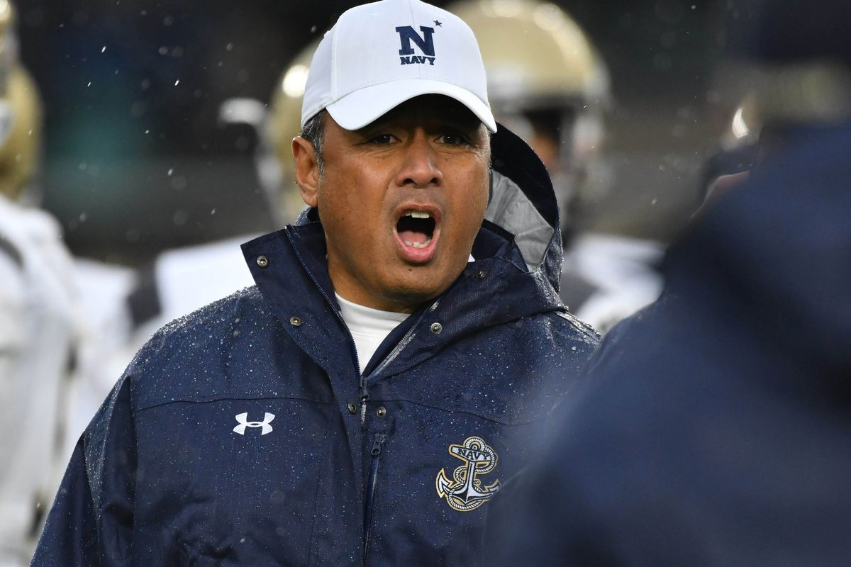 Navy's Ken Niumatalolo Makes Decision On The Arizona Job
