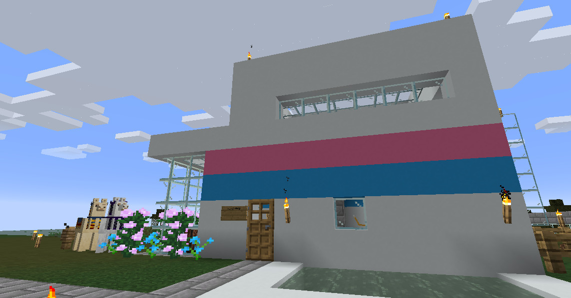 How To Build A House In Minecraft Polygon
