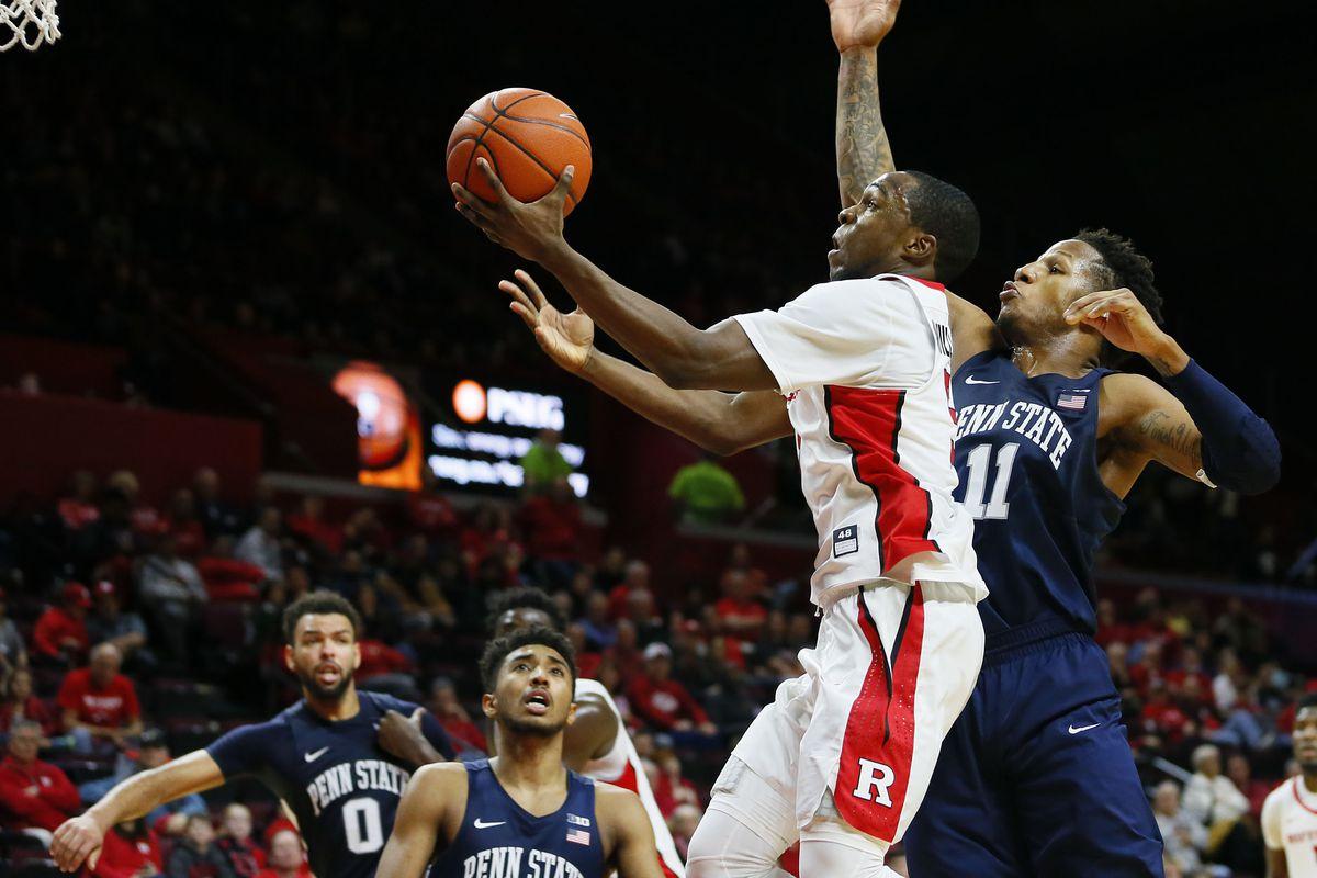 NCAA Basketball: Penn State at Rutgers