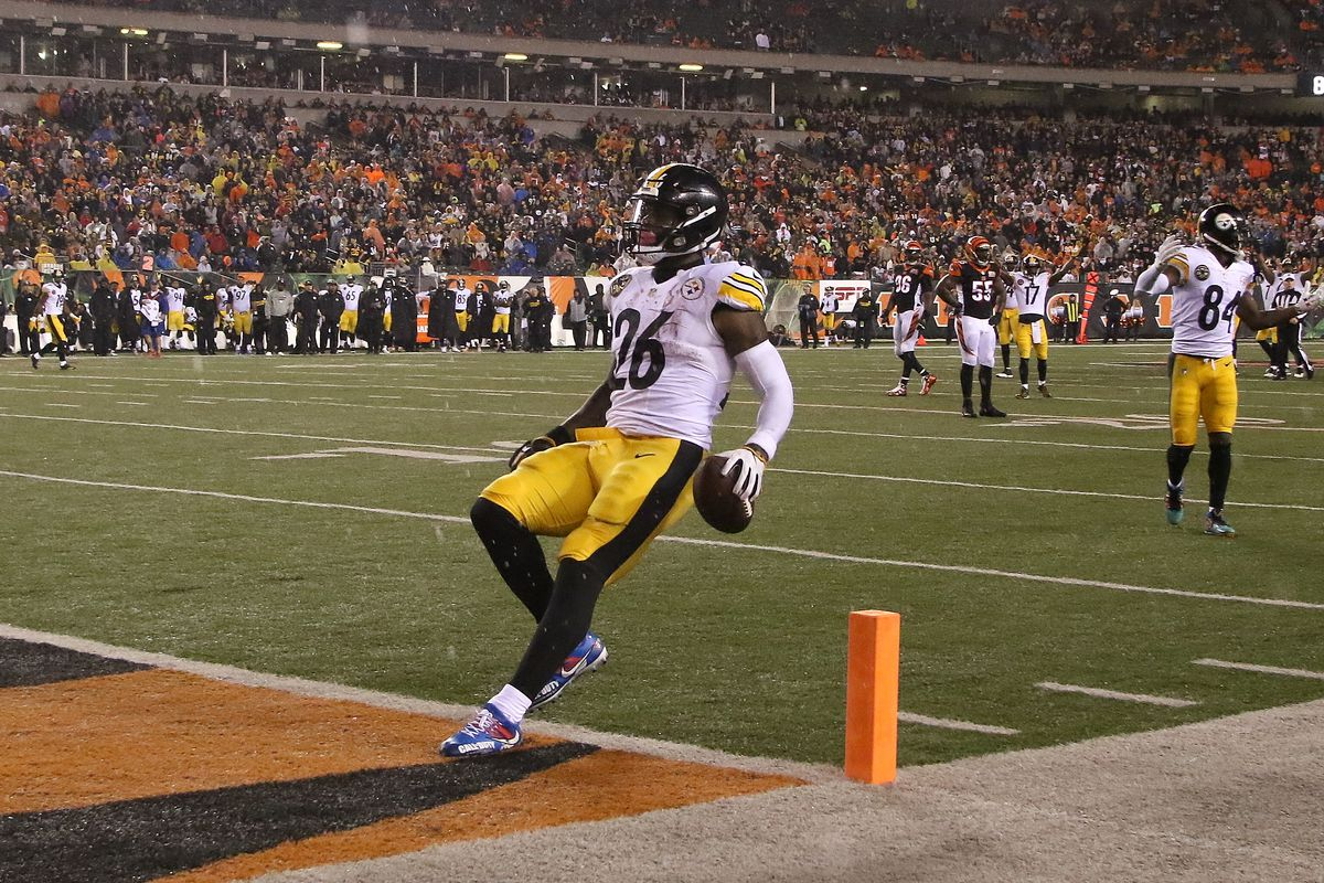 9268b8be Le'Veon Bell's touchdown on Monday was typical Bengals' hospitality ...