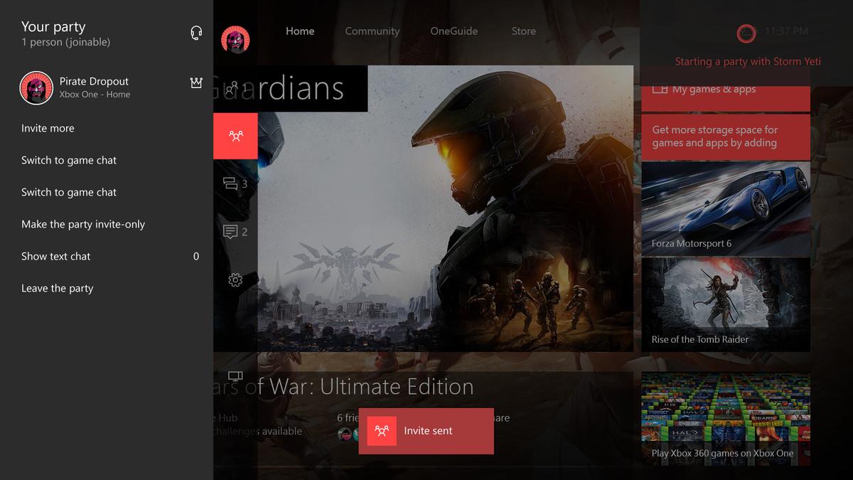 Cortana Xbox One