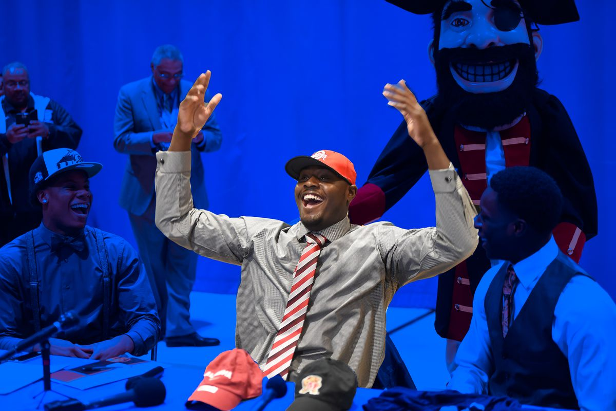 National Signing Day hat ceremony