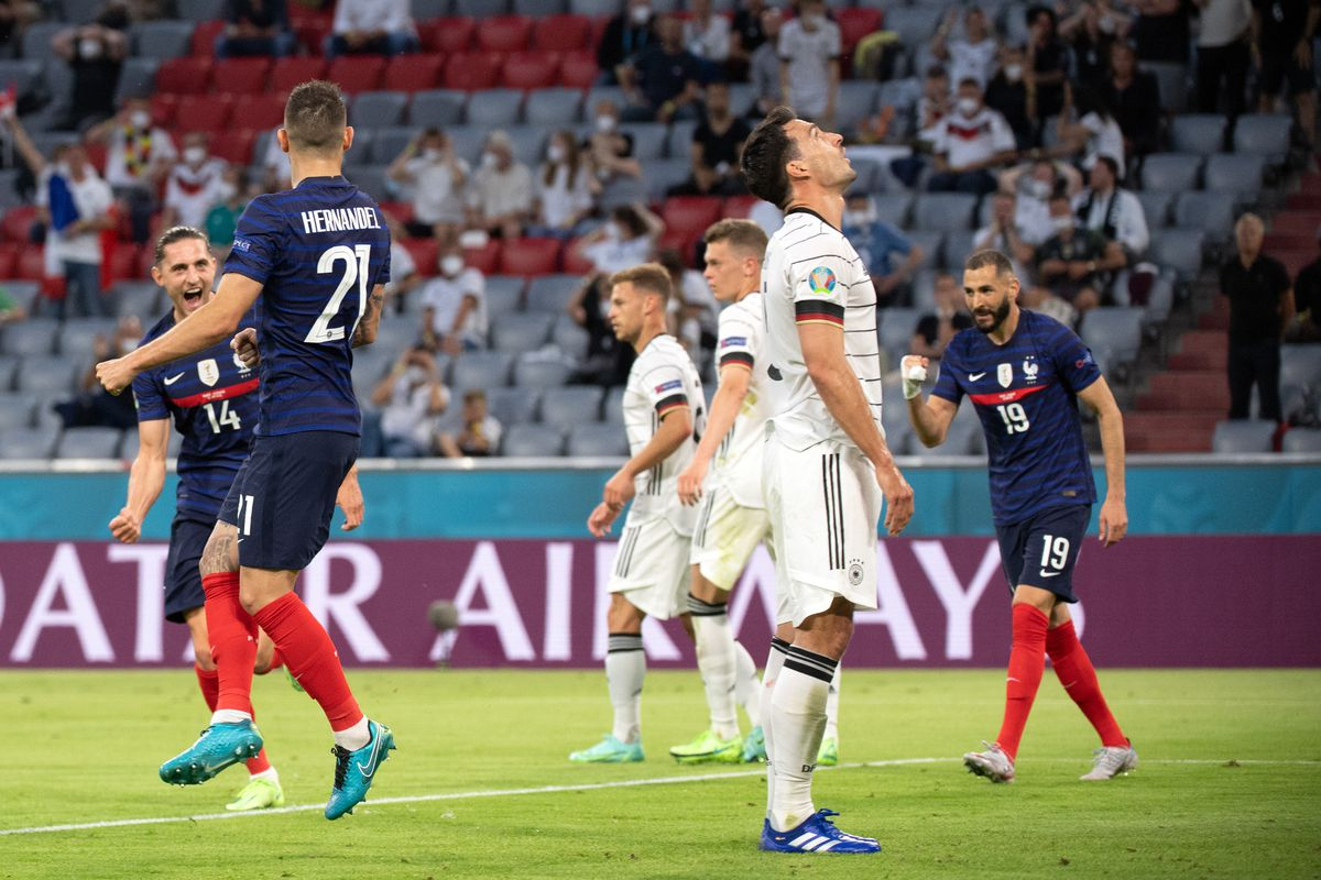 European Football Championship - France - Germany