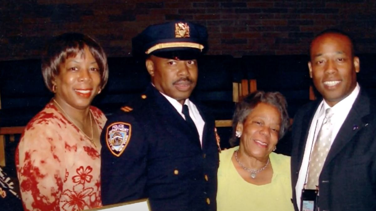 Brooklyn Borough President Eric Adams served as an NYPD officer.