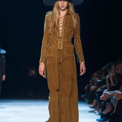 A look from Saint Laurent's spring 2013 show.