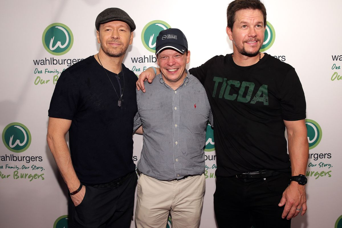 Left to right: Donnie, Paul, and Mark Wahlberg