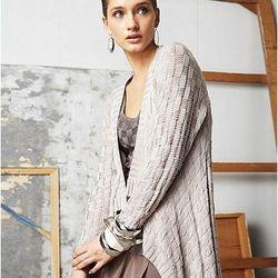 Long Sleeve Basket Weave Cardigan, $69.00
