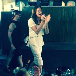 June 28: Caitlyn attends a Pride party at PH-D (while filming 'I Am Cait'!)