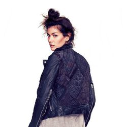 """<b>Muubaa</b> Aztec Leather Motorcycle Jacket, <a href=""""http://www.freepeople.com/clothes-jackets-leather-jackets/aztec-leather-motorcycle-jacket/_/PRODUCTOPTIONIDS/0B6E9CAD-A8F4-4CCF-8A37-466219F4EA95/"""">$399.95</a> at Free People"""