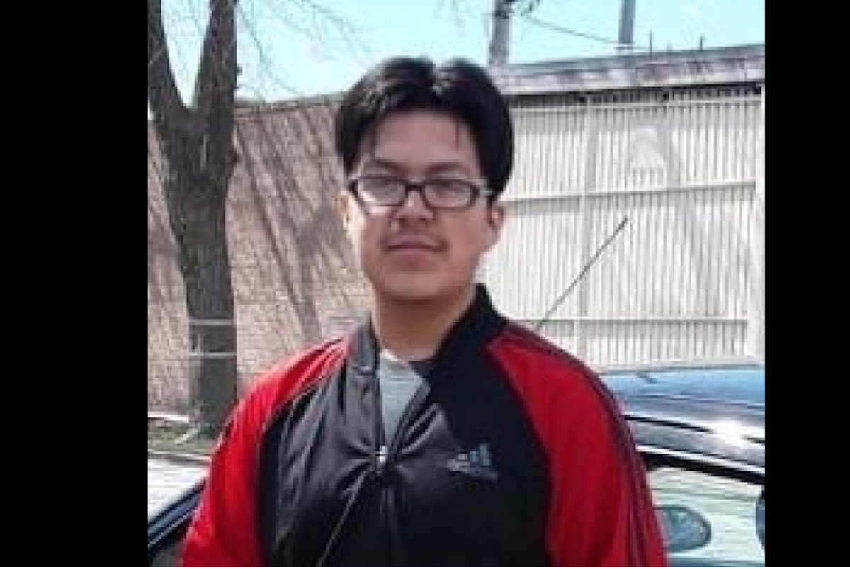Adrian Alonzo was reported missing and was last seen in Montclare