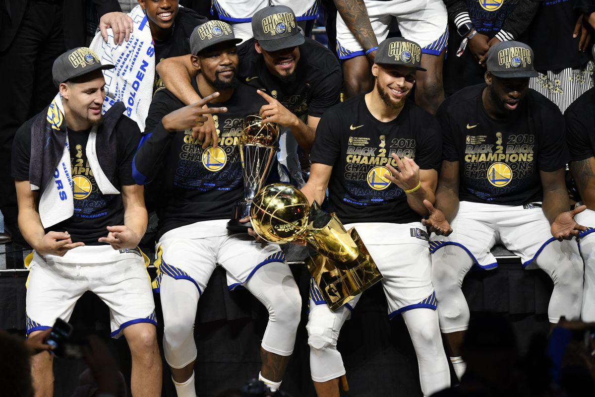 NBA Finals 2018  The Warriors stand alone. Again. - SBNation.com 15281386b
