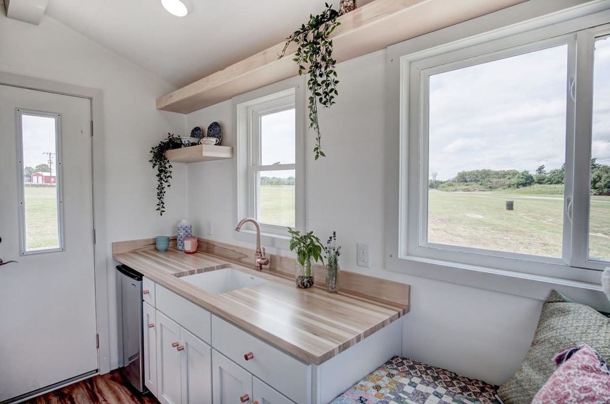 Tiny house packs all the essentials in 100 square feet for 2000 square foot modular home cost
