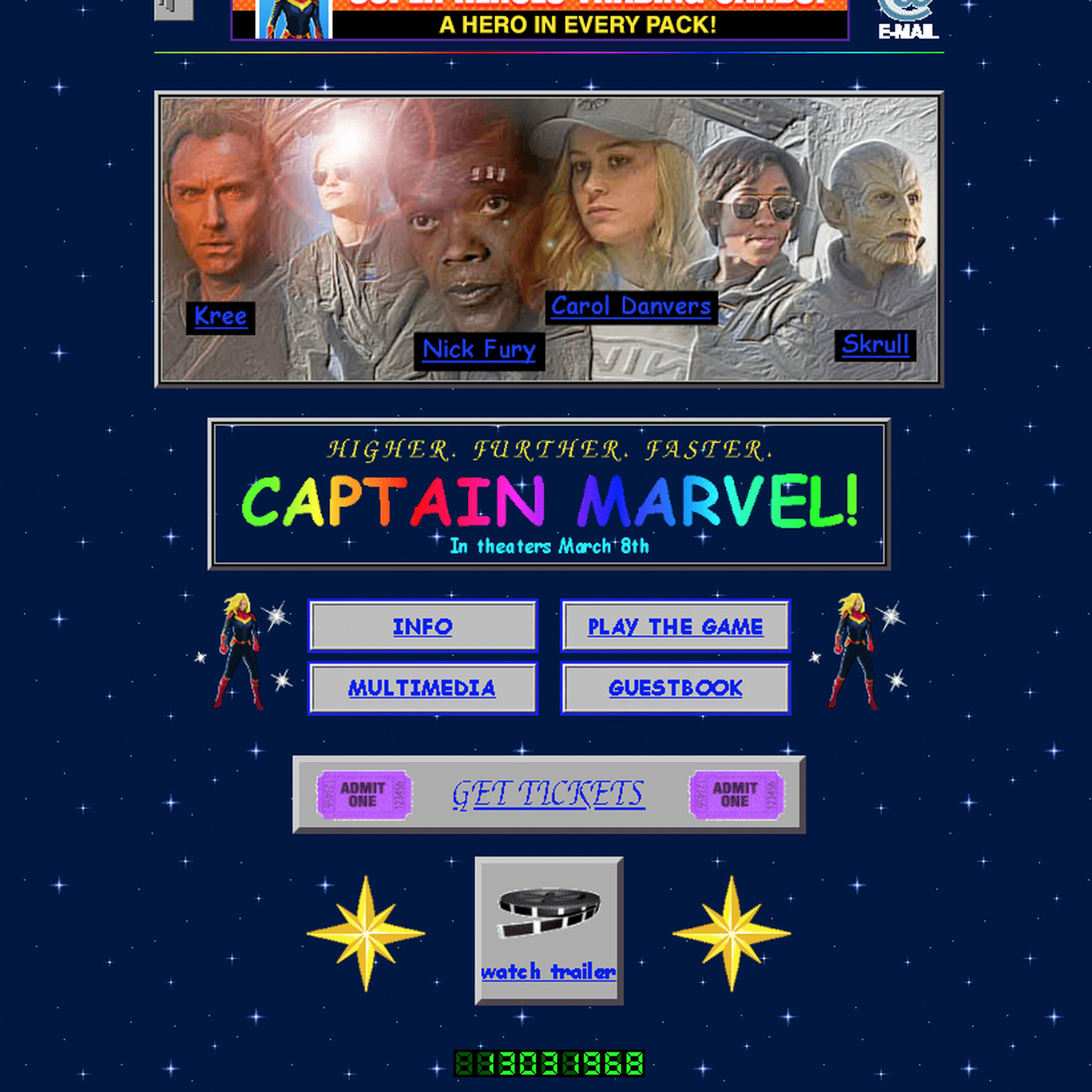 Marvel launched a delightful, retro website to promote Captain ...