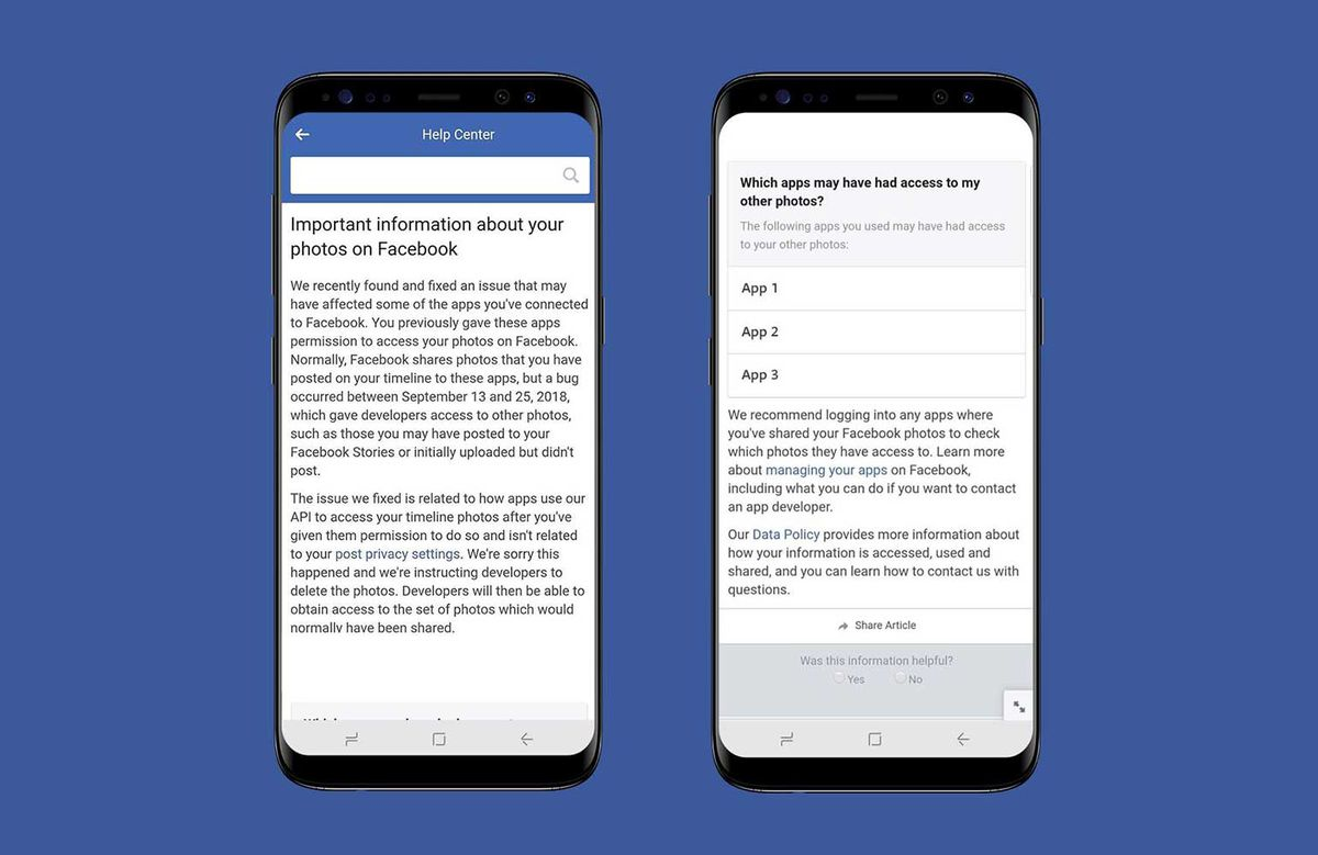 Facebook exposed up to 6 8 million users' private photos in latest