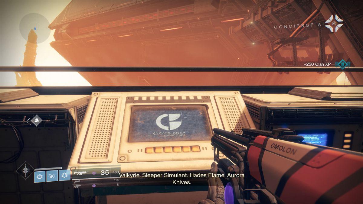 Destiny 2 Guardian interfacing with Rasputin