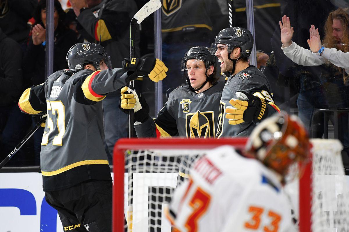 NHL: Calgary Flames at Vegas Golden Knights