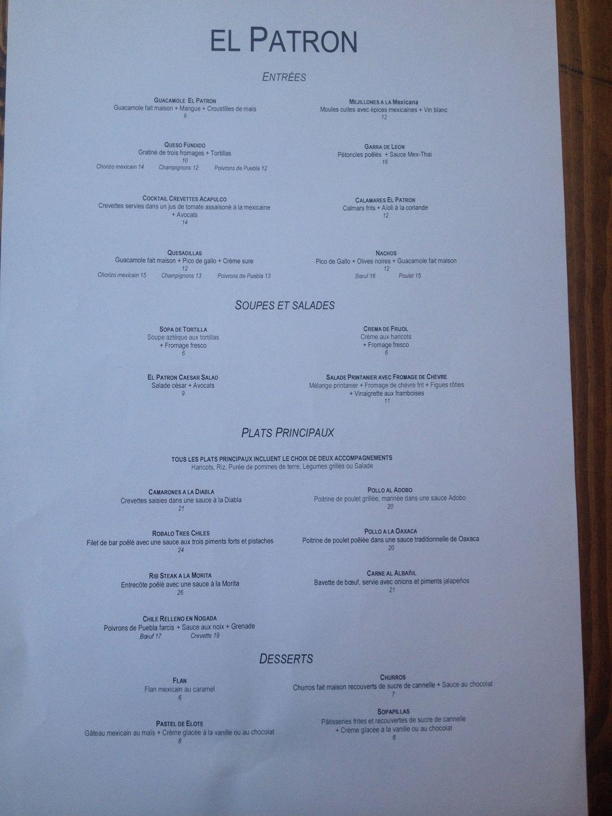 Restaurant Rue Prince Arthur