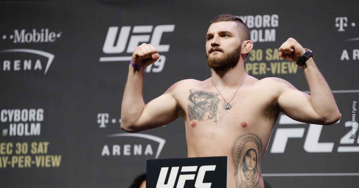 UFC 219 results: Michal Oleksiejczuk earns decision over Khalil Rountree