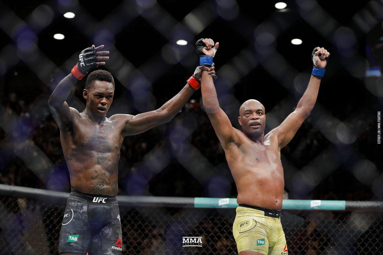 Israel Adesnaya defeated Anderson Silva at UFC 234.