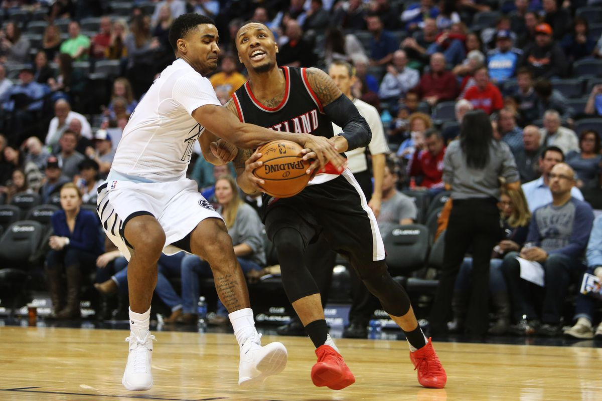 NBA: Portland Trail Blazers at Denver Nuggets