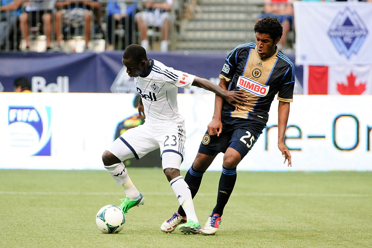 Kekuta Manneh and the Whitecaps will try to achieve their third consecutive road victory?