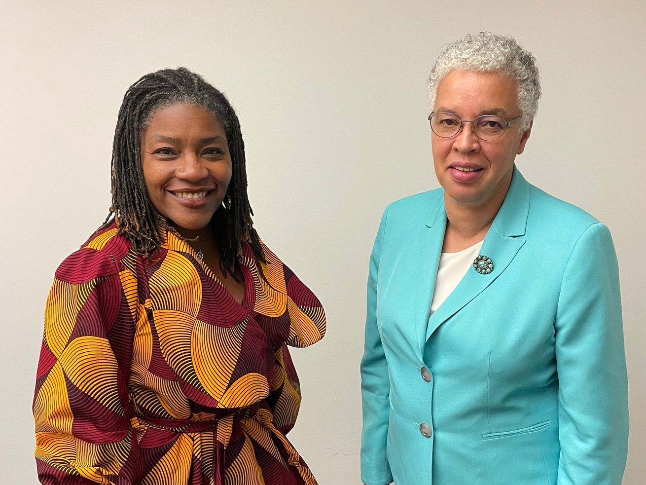 Cook County will unveil a new Racial Equity Action Plan Monday, as County Board President Toni Preckwinkle (r) kicks off the county's 3rd Annual Racial Equity Week, taking place Sept. 13-17. She and Director of Equity and Inclusion Denise Barreto sat down with the Chicago Sun-Times to talk race, equity and racial reckoning in a post-George Floyd America.