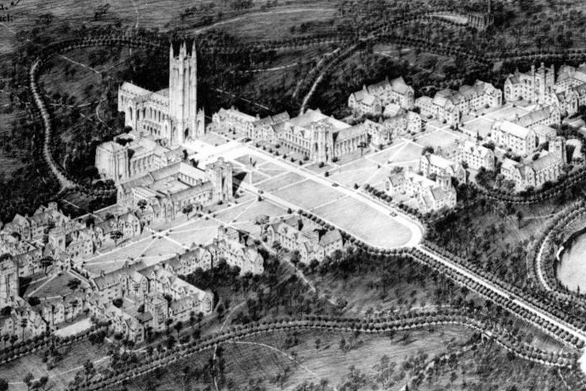 Architecture Design University meet the black architect who designed duke university 37 years