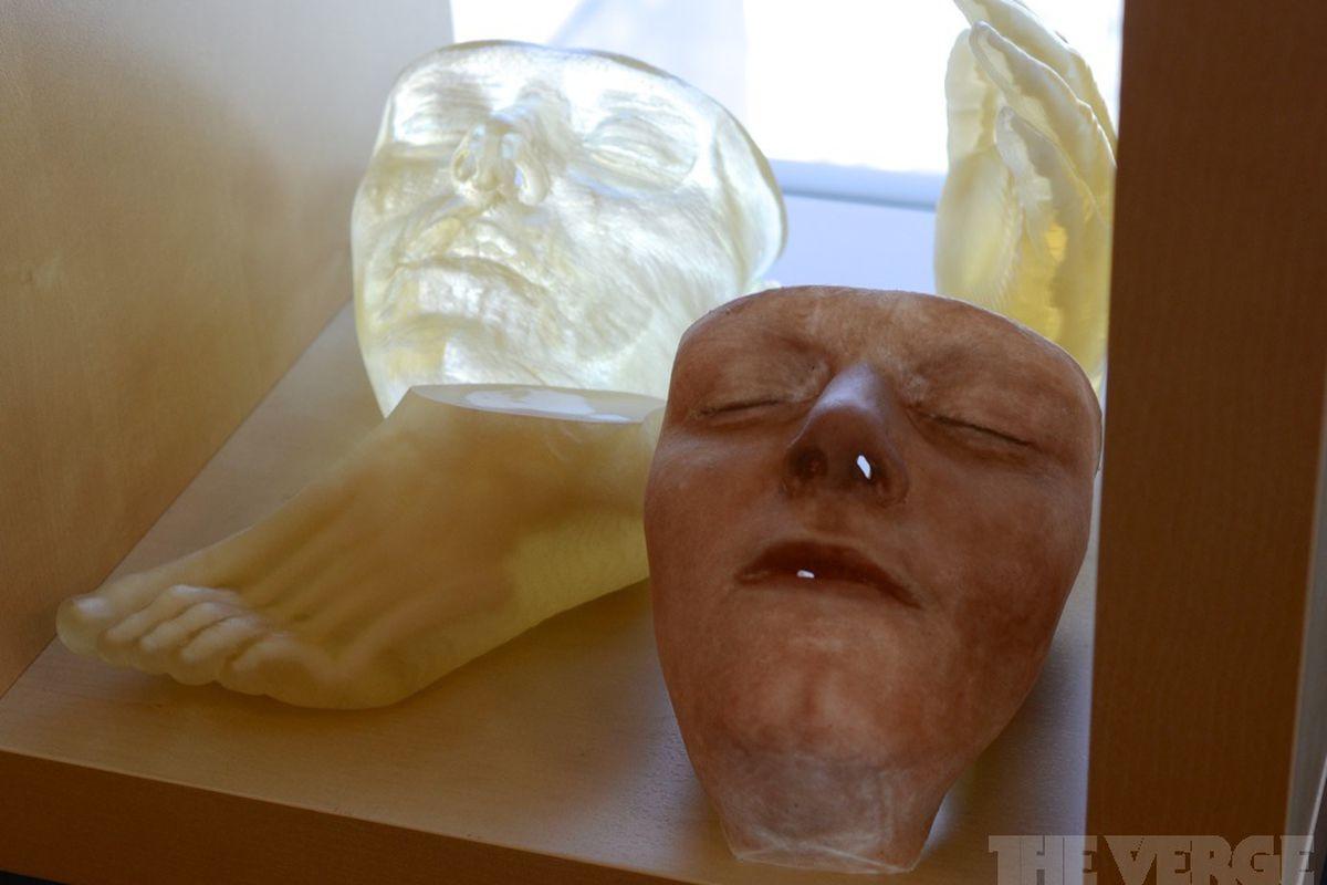 Stratasys Printed Face