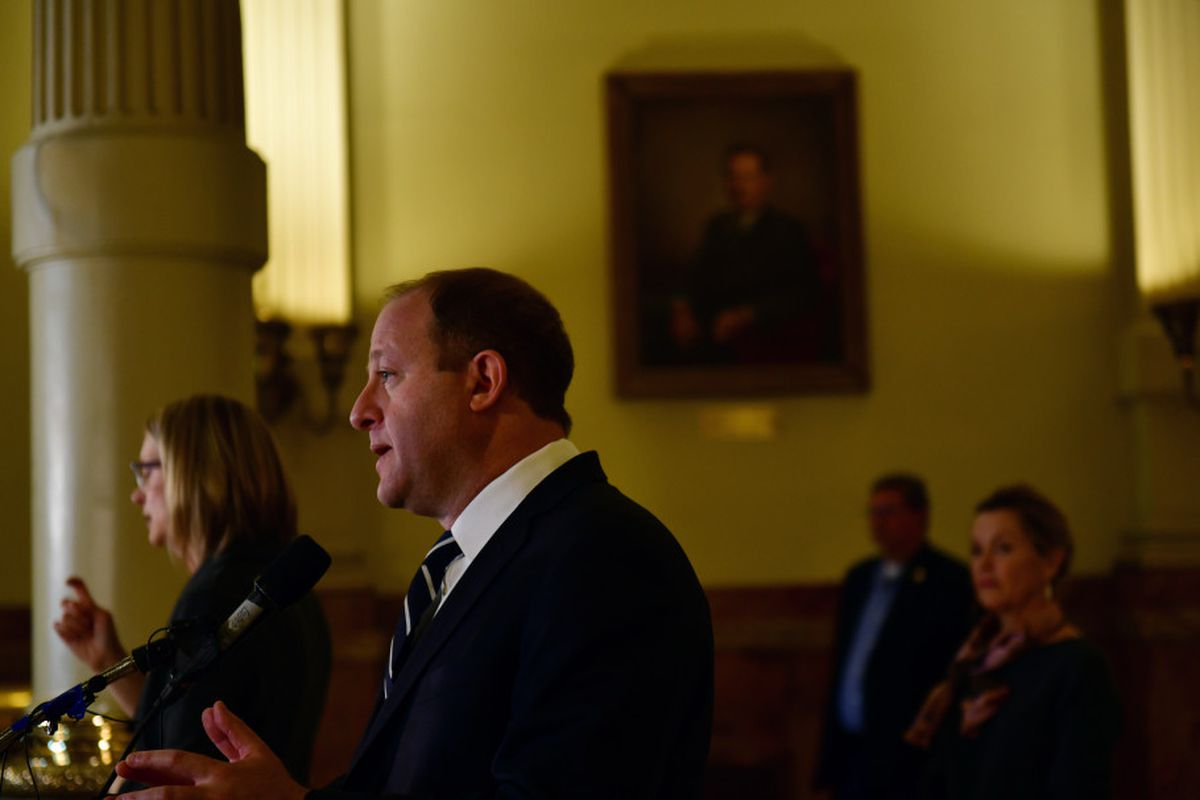 Gov. Jared Polis announced a series of orders to give more financial support to small businesses, homeowners, renters, and taxpayers as the novel coronavirus puts a heavy strain on Colorado's economy.