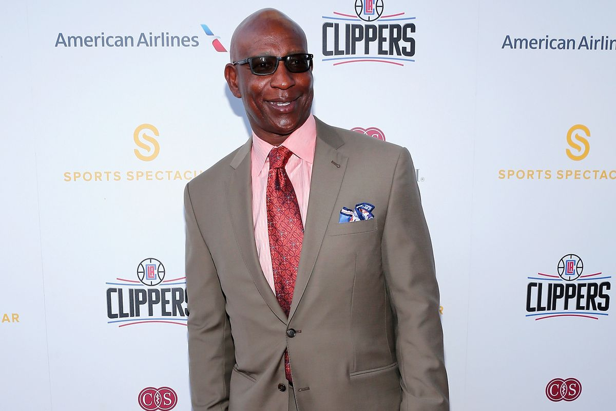 Eric Dickerson was inducted in the Cotton Bowl hall of fame April 22, 2016