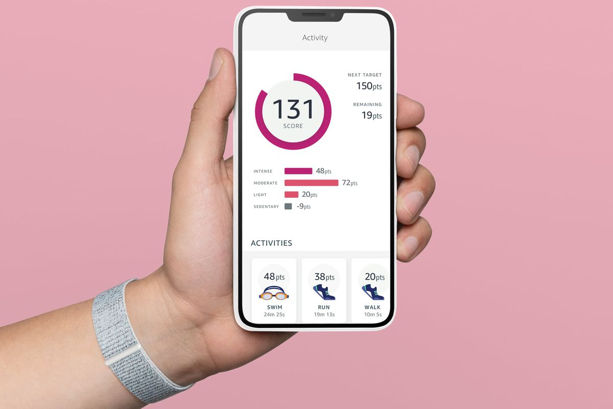 Halo App Activity Feature - Amazon Halo: a health band and app that scans your physique, listens to your voice