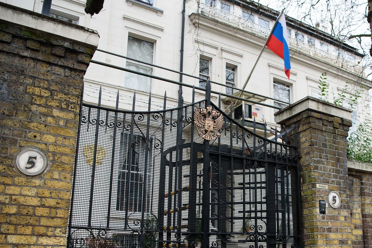 from Reuben london russian embassy in edinburgh